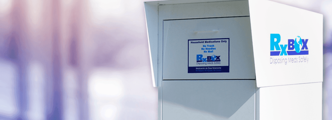 RX Box - Disposing Meds Safely